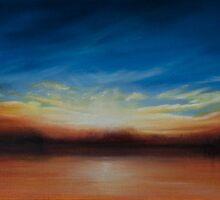 Panoramic sunset. by jan farthing