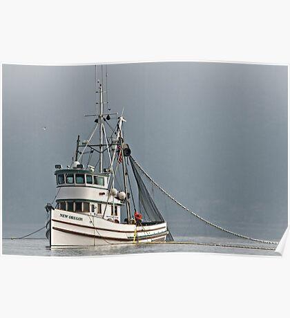 New Oregon Fishing VII Poster