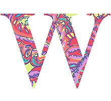 The Letter W - Lily Style by MarcoD