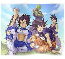 Work from Dragon ball Universe :) Poster
