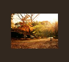 Light Through Autumn Trees - Central Park Unisex T-Shirt