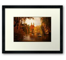 Autumn - Central Park - New York City Framed Print