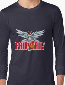 fairy tail erza scarlet titania anime manga shirt Long Sleeve T-Shirt