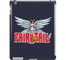 fairy tail erza scarlet titania anime manga shirt iPad Case/Skin