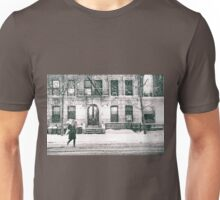 Snow at Night - New York City Unisex T-Shirt
