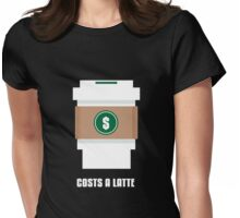 Coffee Costs a Latte Womens Fitted T-Shirt