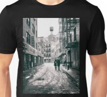 Doyers Street - Snow - New York City Unisex T-Shirt