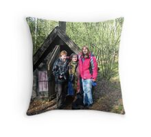 The House of the Time Spirit Throw Pillow