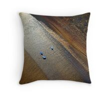 Sand and Stones Throw Pillow