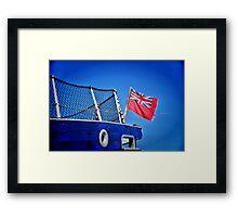 Red Ensign... Framed Print