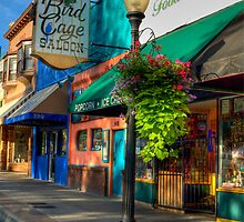 Historical Whiskey Row Prescott Arizona by K D Graves Photography
