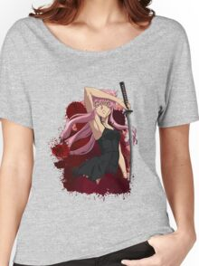future diary mirai nikki yuno gasai anime manga shirt Women's Relaxed Fit T-Shirt