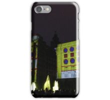 Yellow Submarine Projection on Liver Buildings iPhone Case/Skin