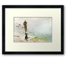 Fisherwoman Framed Print