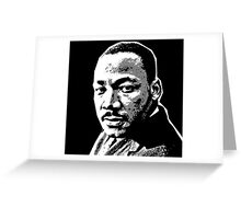 MLK-3 Greeting Card