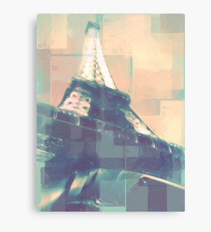 a tower in france Canvas Print