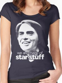 We Are Made of Star Stuff Women's Fitted Scoop T-Shirt