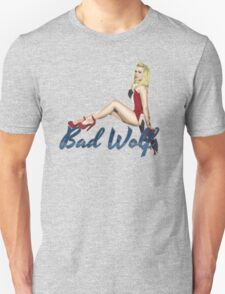 Blonde in a Union Jack...A specific one Unisex T-Shirt
