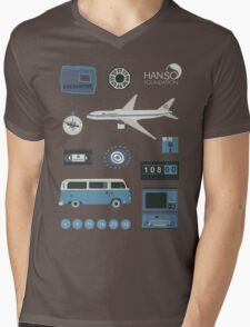 Lost blue Mens V-Neck T-Shirt