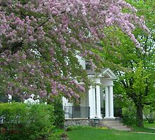 White House in Spring by Kathleen Brant