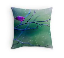 Coral Bell Reaching Out  Throw Pillow
