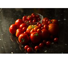 Fresh Tomatoes Photographic Print