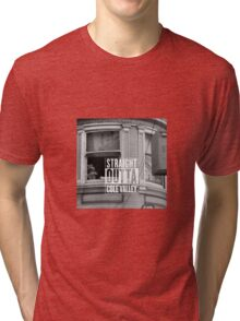 Straight outta Cole Valley Tri-blend T-Shirt
