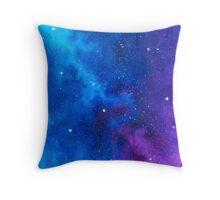 Mellow Wonder: Stardust Galaxy Throw Pillow
