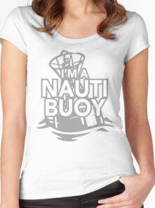 Girls Love Nauti Buoys Women's Fitted Scoop T-Shirt