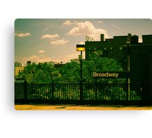 Astoria Broadway Station Canvas Print