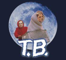 Tom Brady's Courtroom Sketch E.T. Parody Kids Tee