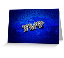 TVR Greeting Card