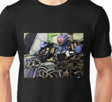 Between Being a Hero and Being a Memory Unisex T-Shirt
