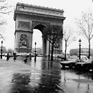 Arc de Triomphe, Paris, Circa 1984 by Helen  Page
