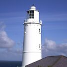 Lighthouse on Trevose Head by Jan Carlton