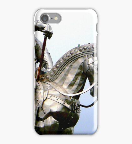 Genghis Khan Equestrian Statue iPhone Case/Skin