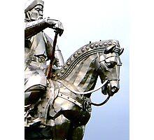 Genghis Khan Equestrian Statue Photographic Print