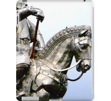 Genghis Khan Equestrian Statue iPad Case/Skin