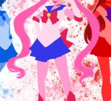 The Inner Senshi Sticker