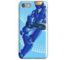 The Blue idiot iPhone Case/Skin