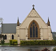 St Matthew's New Norfolk, Tasmania 1825 by PaulWJewell