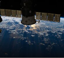 ISS over the Atlantic, 2013 by Centauri4