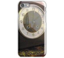 Old Mantle Clock at the Greendale Hotel iPhone Case/Skin