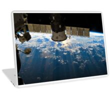 ISS over the Atlantic, 2013 (Enhanced) Laptop Skin
