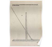 Measurement With Compass Line Leveling Albrecht Dürer or Durer 1525 0041 Curve Tool Poster
