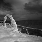Infrared Delicate Arch by Clayhaus