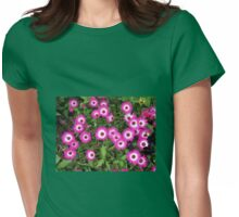 Singing of Summer - Pink Mesembryanthemums Womens Fitted T-Shirt
