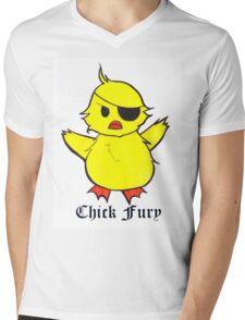 Chick Fury Mens V-Neck T-Shirt