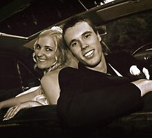 Inside the Wedding Limo by Shevaun  Shh!