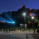 What lights up the falls. by katievphotos